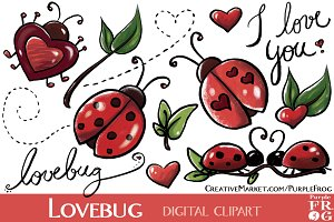 LOVEBUG - Digital Clipart