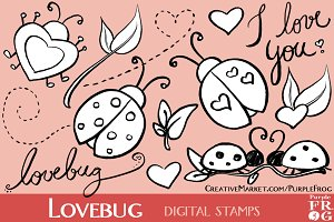 LOVEBUG - Digital Stamps / Brushes
