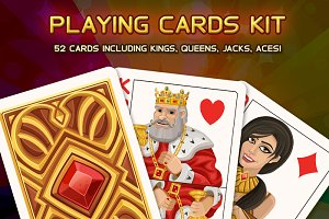 Playing cards kit