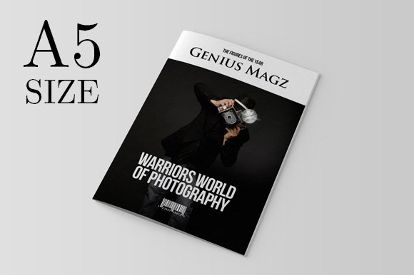 A5 InDesign Magazine Template