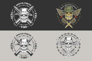 Military emblem: Special forces
