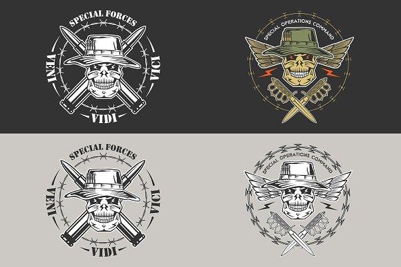 Military emblem: Special forces
