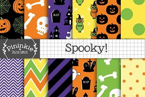 Spooky! Digital Paper