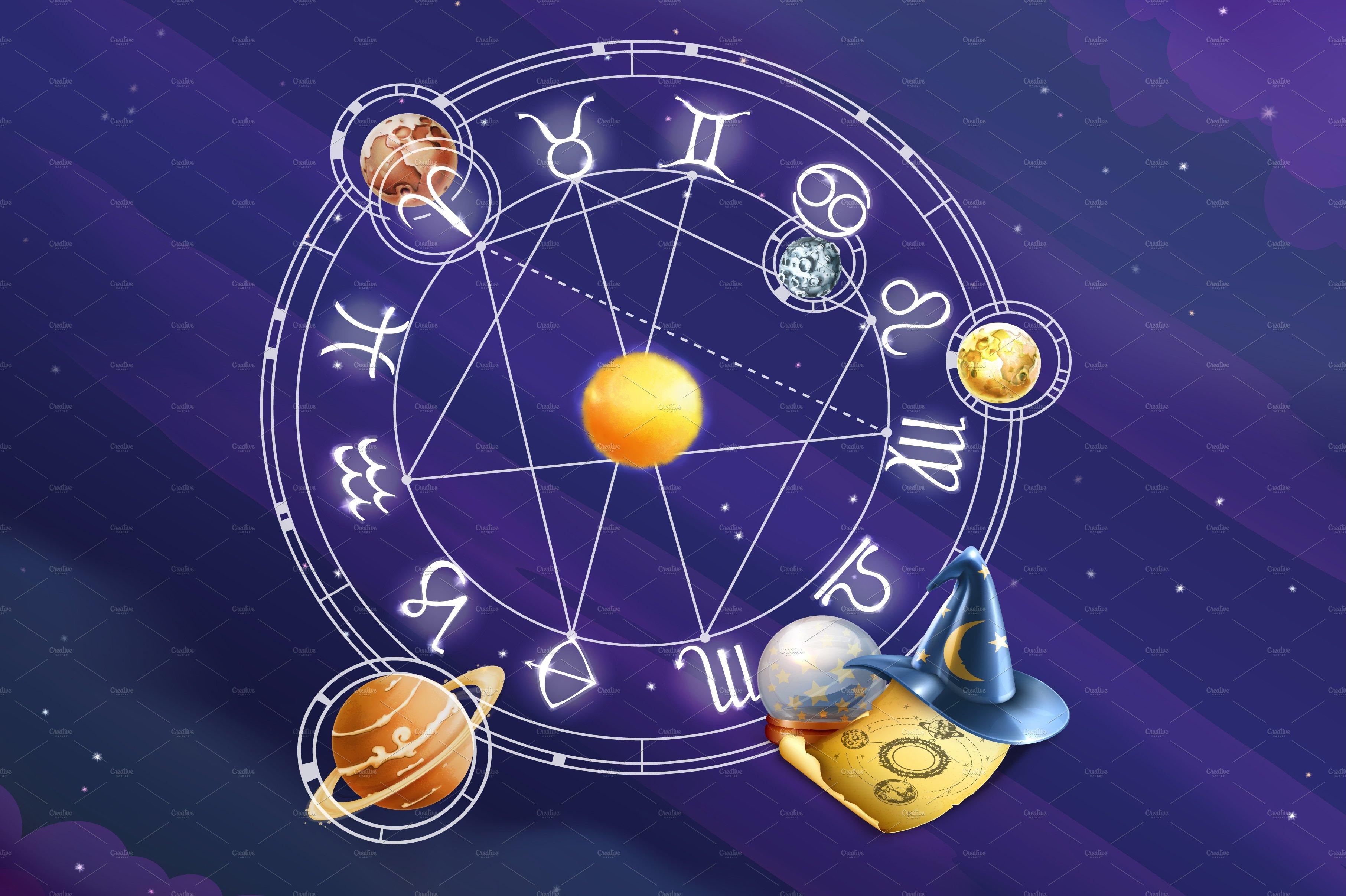 Zodiac signs background ~ Textures ~ Creative Market
