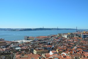 Viewpoint in Lisbon