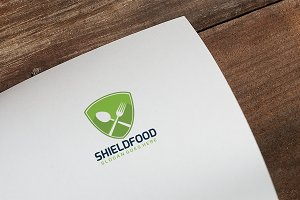 Shield Food Logo