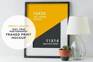 Artist Series Framed Print Mockup #1