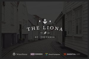 Liona, A Portfolio for Creative Site