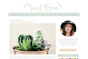 Sweet Home WordPress Theme
