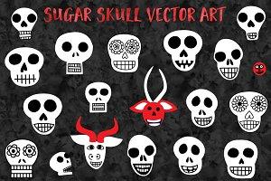 Halloween Skull Vectors