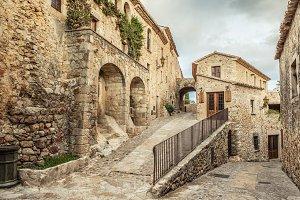 Spanish medieval village