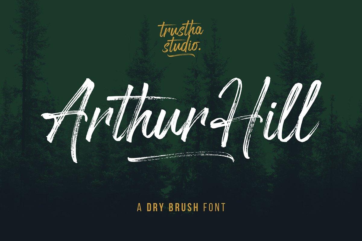 Arthur Hill Font - 30% OFF