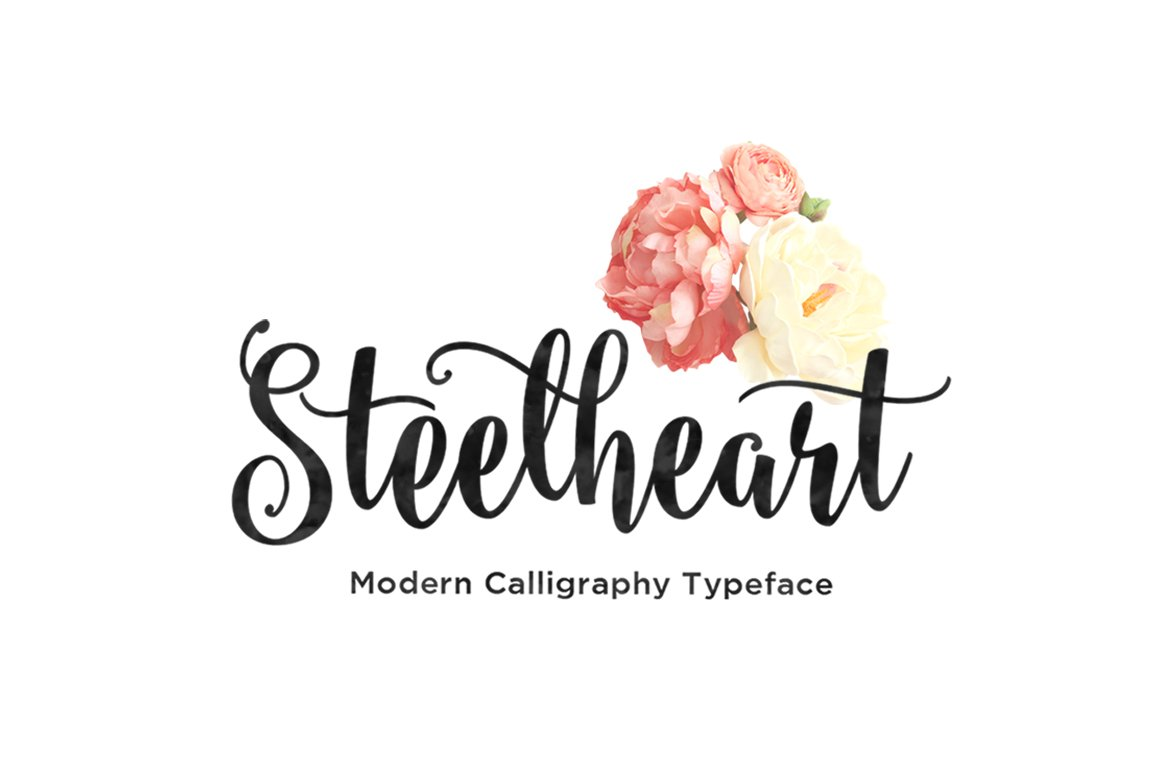Steelheart Script Fonts Creative Market