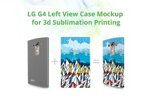 LG G4 3d Case Design Mock-up