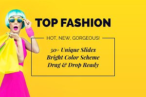 Top Fashion Powerpoint Template