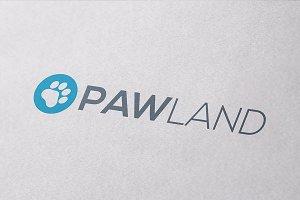 PAWLAND Logo Design