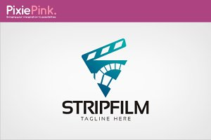 Strip Film Logo Template