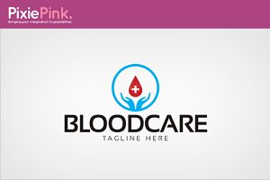 Blood Care Logo Template
