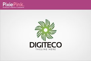 Digiteco Logo Template