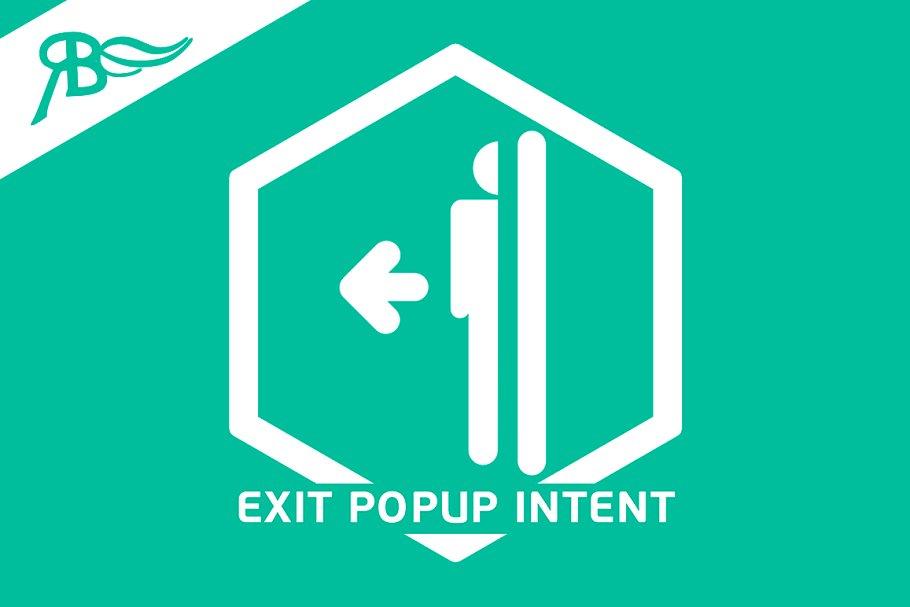 Widget [YV] ExitPopupIntent for Muse ~ Other Design Software