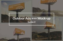 Outdoor Ads etc. - Mockup