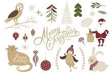Cute Christmas illustrations