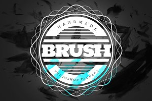 Handmade Brush Pack #4 for Photoshop