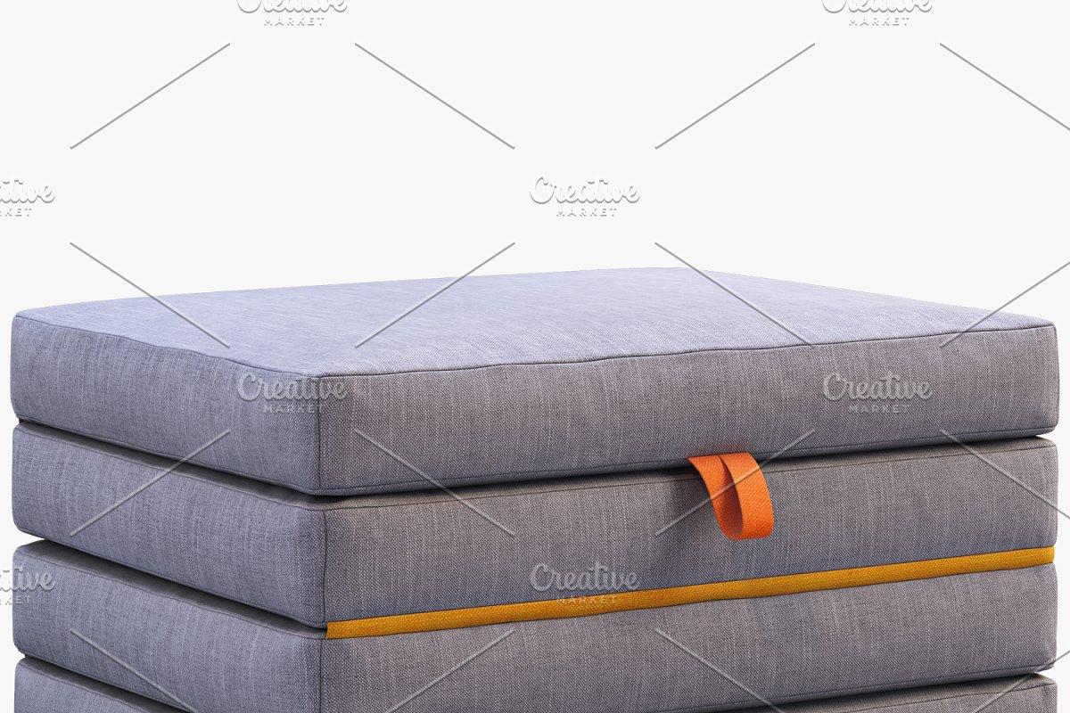 Mattress folding 3d model