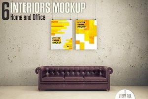 Interiors Mock-up Vol. 3