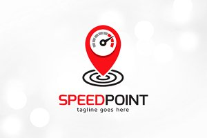 Speed Point Logo Template