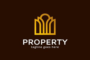 Property/ Real Estate Logo Template