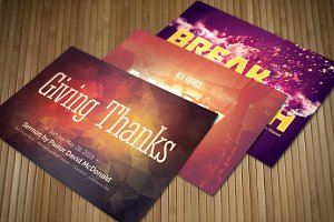 Give Thanks Church Postcard Bundle
