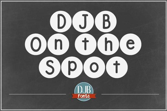 DJB On the Spot Font