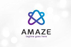Amaze Letter A Logo Template