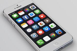 Mojo for iOS 7 - Full PSD 50+ icons