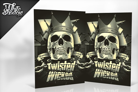 Twisted Wicked Flyer Template
