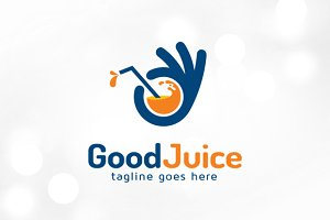Good Juice Logo Template