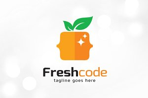 Fresh Code Logo Template
