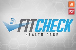 Health Fitness Logo Template