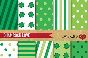 St Patricks Background Patterns