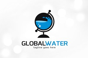 Global Water Logo Template
