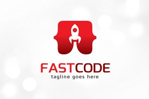 Fast Code Logo Template