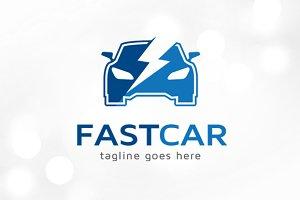 Fast Car Logo Template