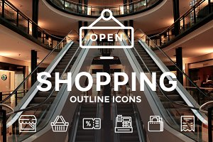 Shopping Icons / illustrations