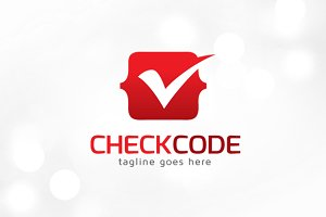 Check Code Logo Template