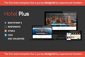 Hotel Plus   Hotel, Resort, HTML