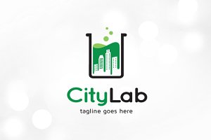 City Lab Logo Template