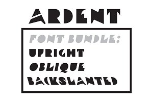 Ardent Font Bundle (3 fonts)