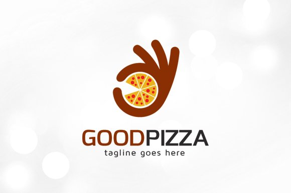 Good Pizza Logo Template Logo Templates Creative Market