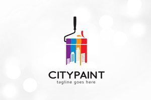 City Paint Logo Template
